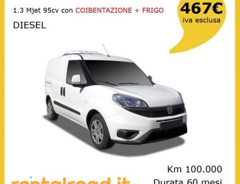 FIAT DOBLÒ CARGO 1.3 MJET 95CV CON COIBENTAZIONE + FRIGO