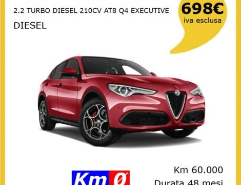ALFA ROMEO STELVIO 2.2 TURBO DIESEL 210CV AT8 Q4 EXECUTIVE
